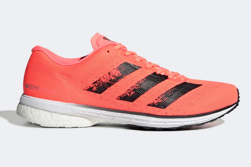 adidas, running shoes, orange, neon