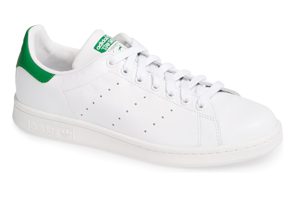 adidas, stan smith, sneakers, white, green