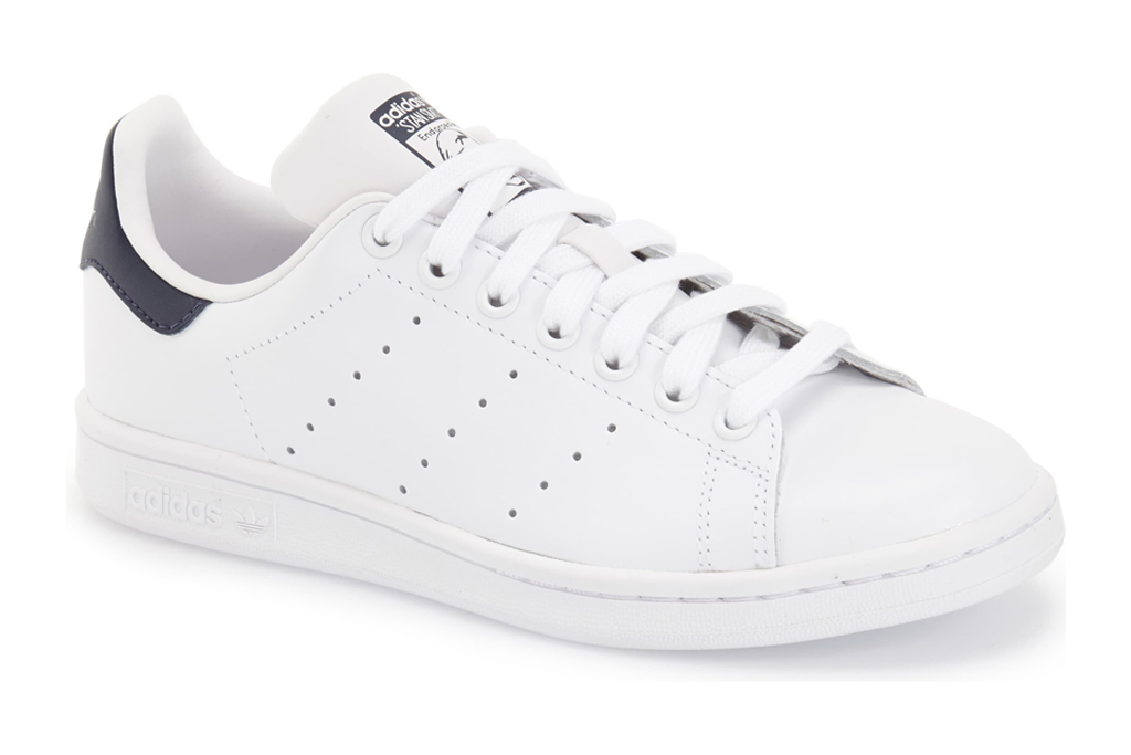 adidas, stan smith, sneakers, white, navy