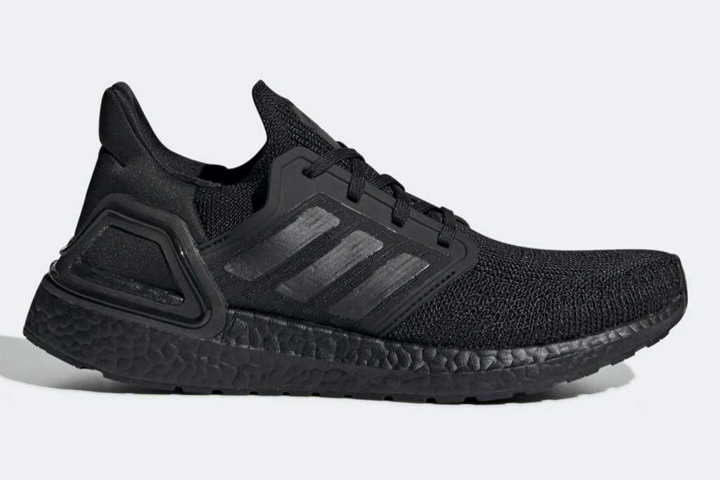 adidas, ultra boost, womens, black, sneakers