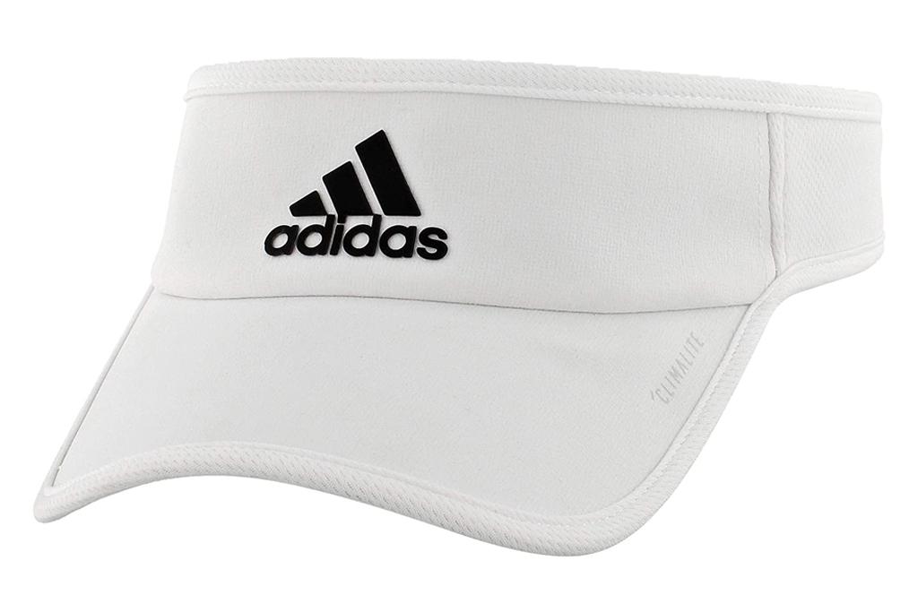 adidas visor, mens, white