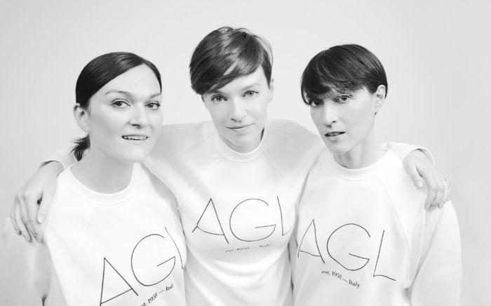 AGL sisters Vera, Sara and Marianna Giusti.