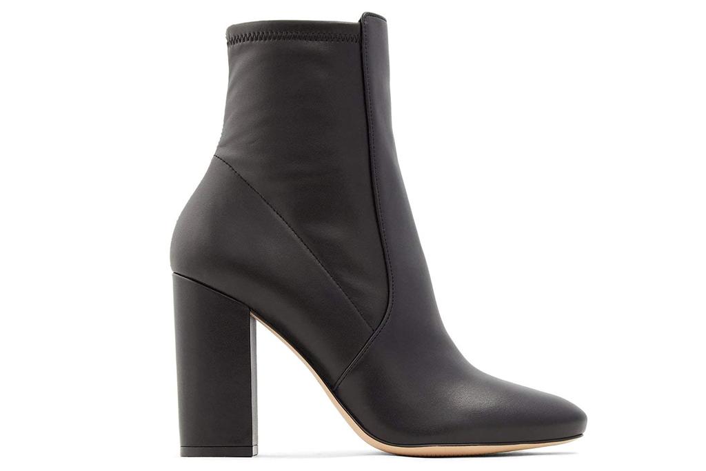 aldo, black boots, booties