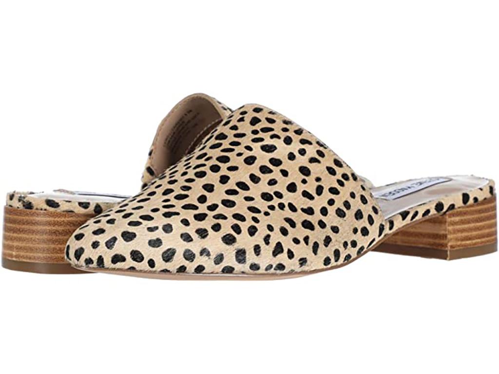 steve madden, leopard print mule, tiger king fashion