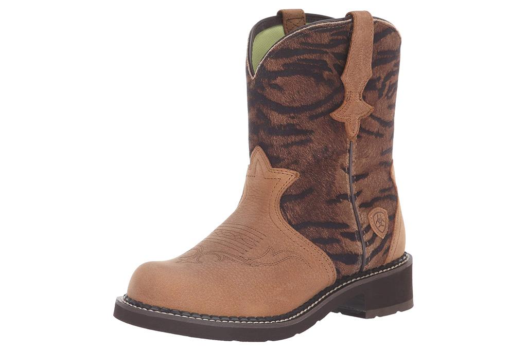 ariat, boots, tiger