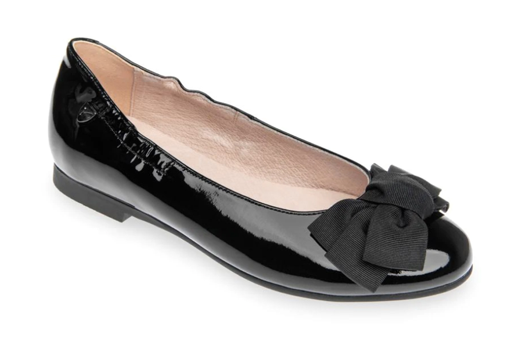 Venettini Girl's Darcy Patent Leather Ballet Flats