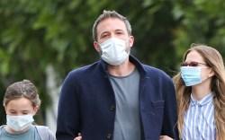 Ben Affleck, seraphina, violet, celebrity style,