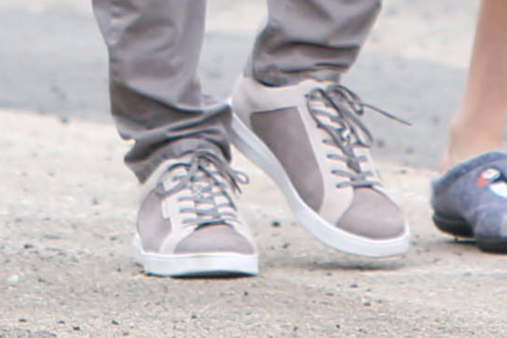 Ben Affleck, kenneth cole sneakers, sustainable shoes, los angeles, april 2020