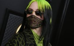 billie eilish, billie eilish grammys, face