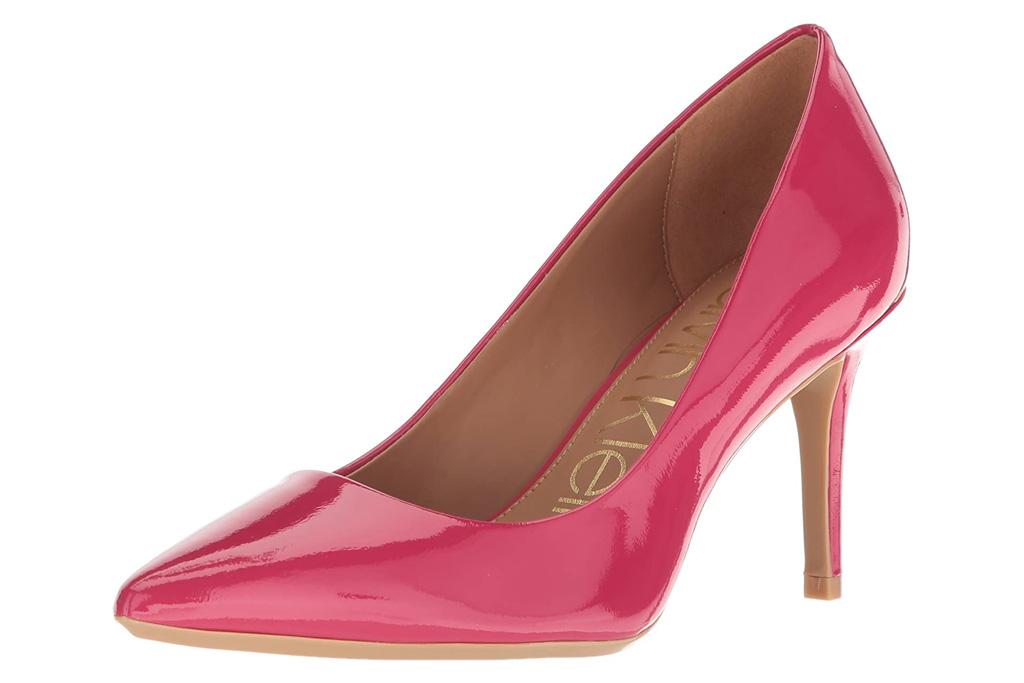 calvin klein, pumps, pink