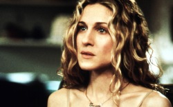 Carrie Bradshaw, work from home style,