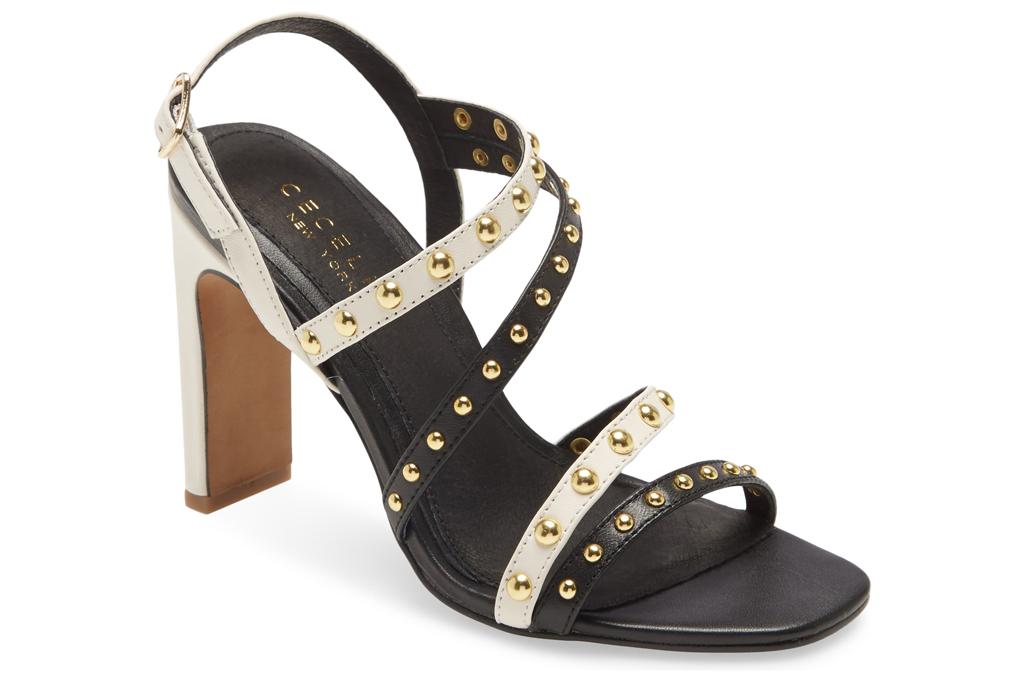 cecelia new york, sandals, studded