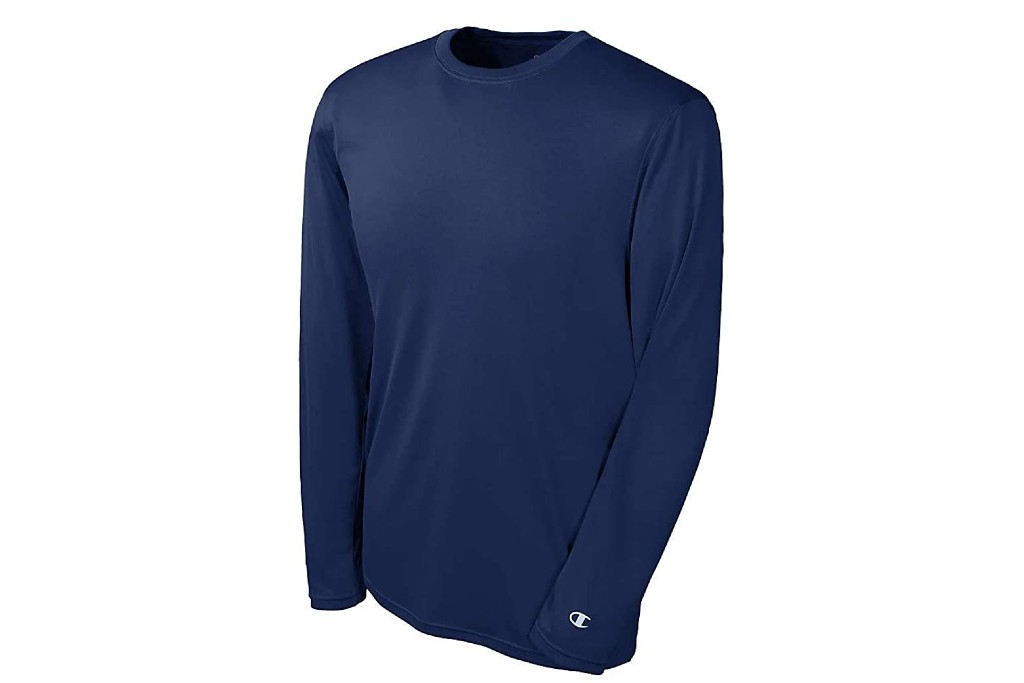 Champion Essential Double Dry Long Sleeve Tee