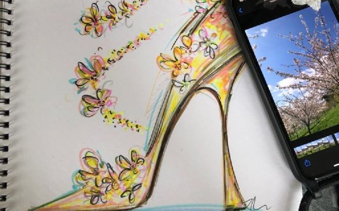jimmy choo, sketch initiative, design a shoe, choo sketch charity