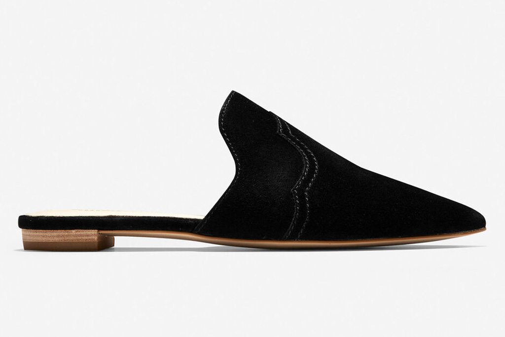 cole haan, black mules