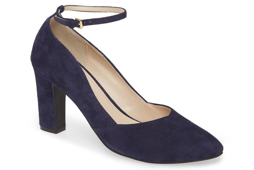 Cole Haan Kaelyn Suede Block Heel