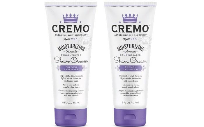 Cremo French Lavender Moisturizing Shave Cream