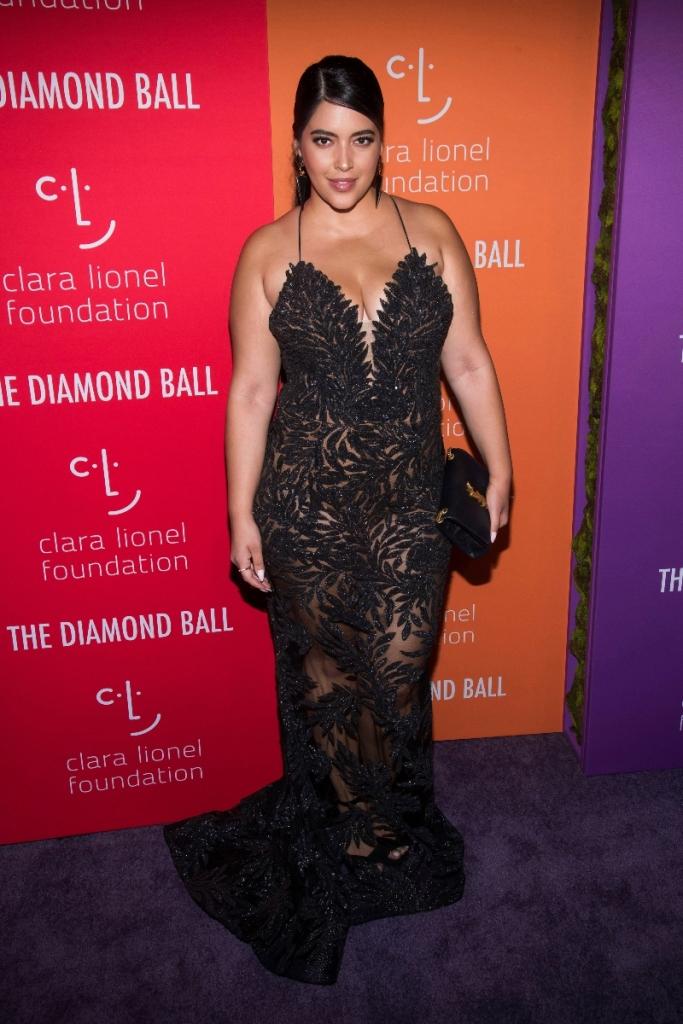denise bidot, diamond ball, style, dress