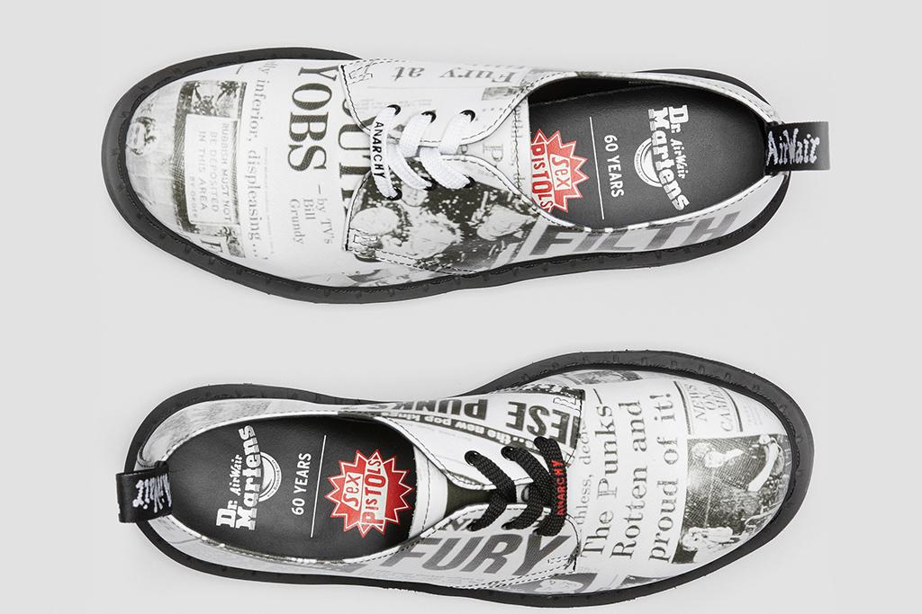Dr. Martens x Sex Pistols Shoes Return