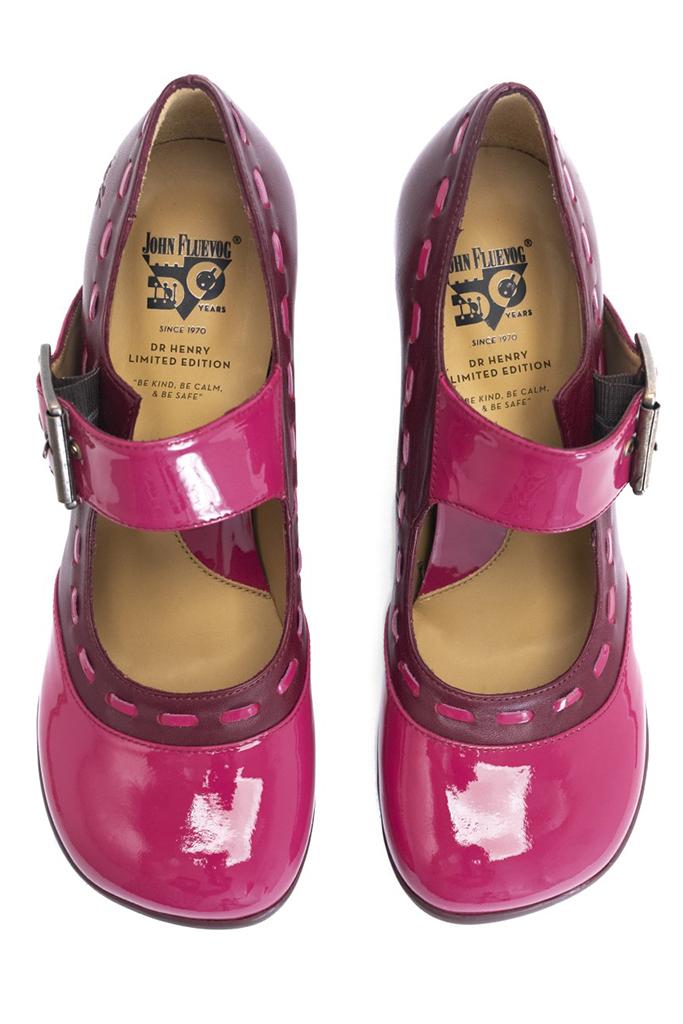 dr. henry shoes, fluevog shoes, pink pumps