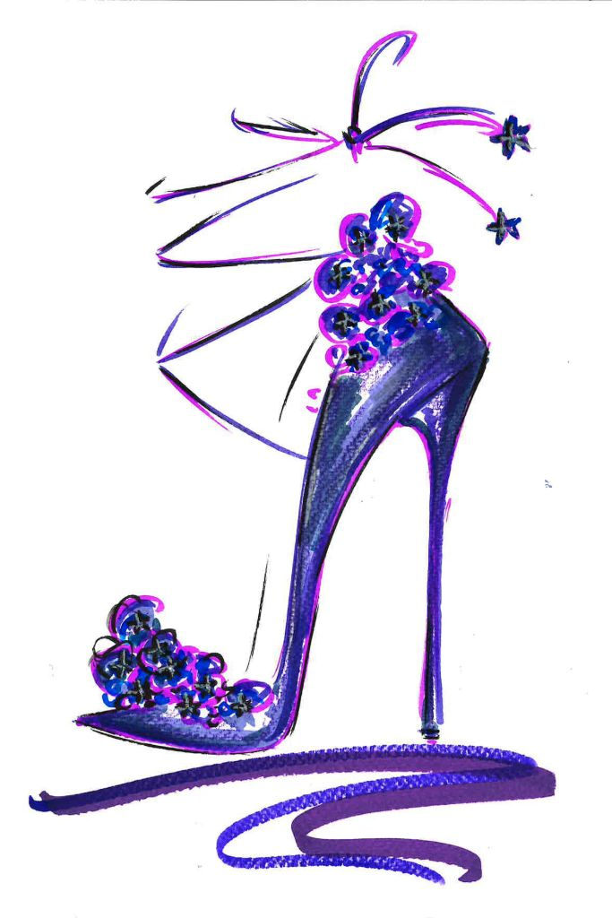 jimmy choo, sketch contest, charity, coronavirus charity