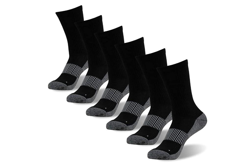Foot Plus Copper Crew Socks