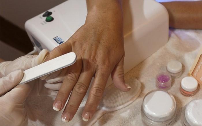 manicure, polish, gel