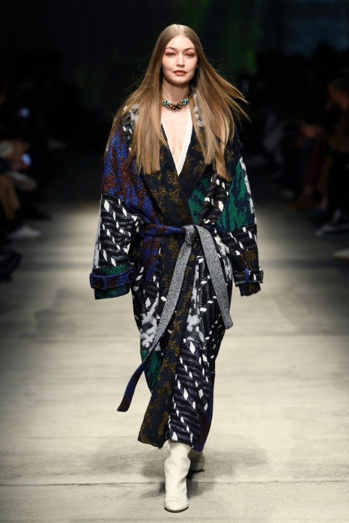 gigi hadid, missoni, fall '20