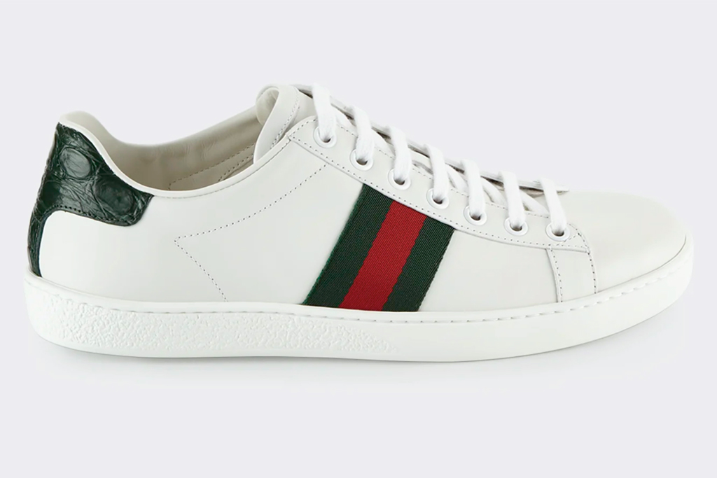 gucci, sneakers, ace sneakers, red, green, white