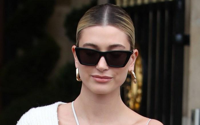 hailey-baldwin-sunglasses-white
