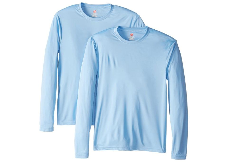 Hanes Long Sleeve Cool Dri T-Shirt