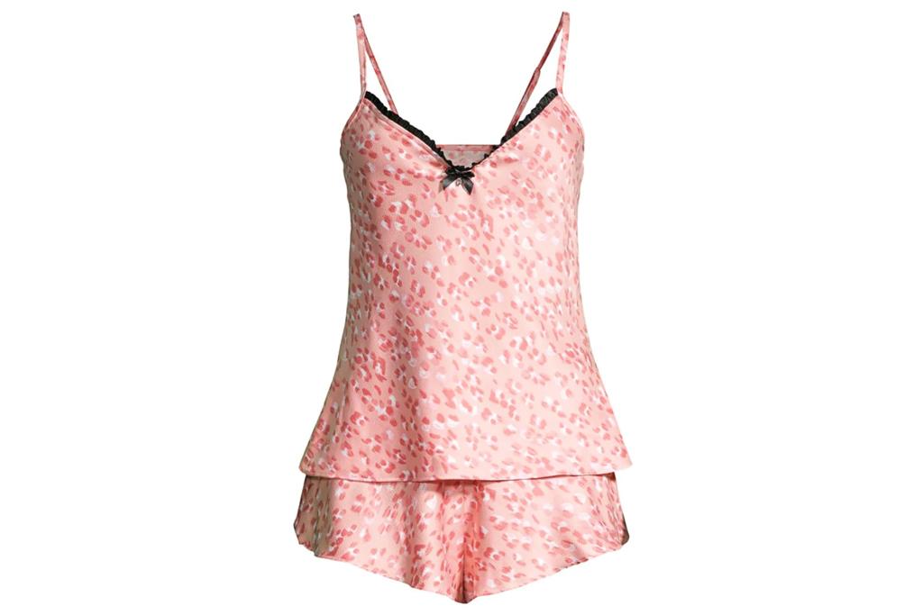 hanky panky, pajamas, pink, cheetah