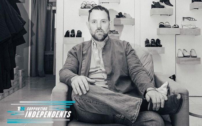 Ty McBride, Intentionally Blank, shoe designer