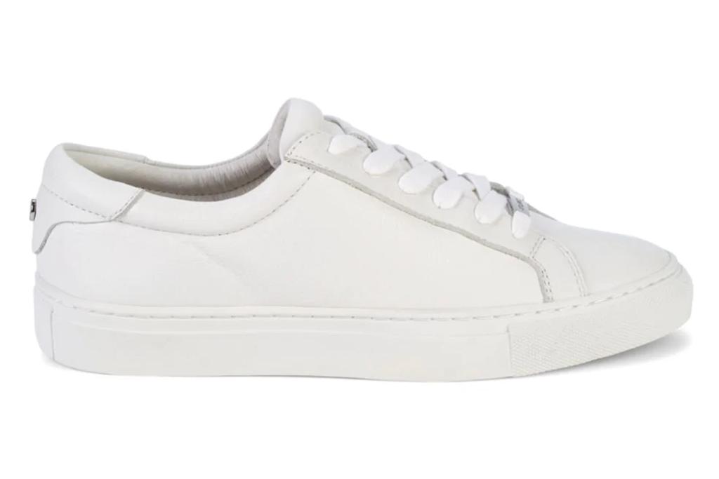 J/Slides white sneakers