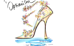 Jimmy Choo sketch