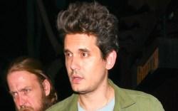 john mayer, green, hair