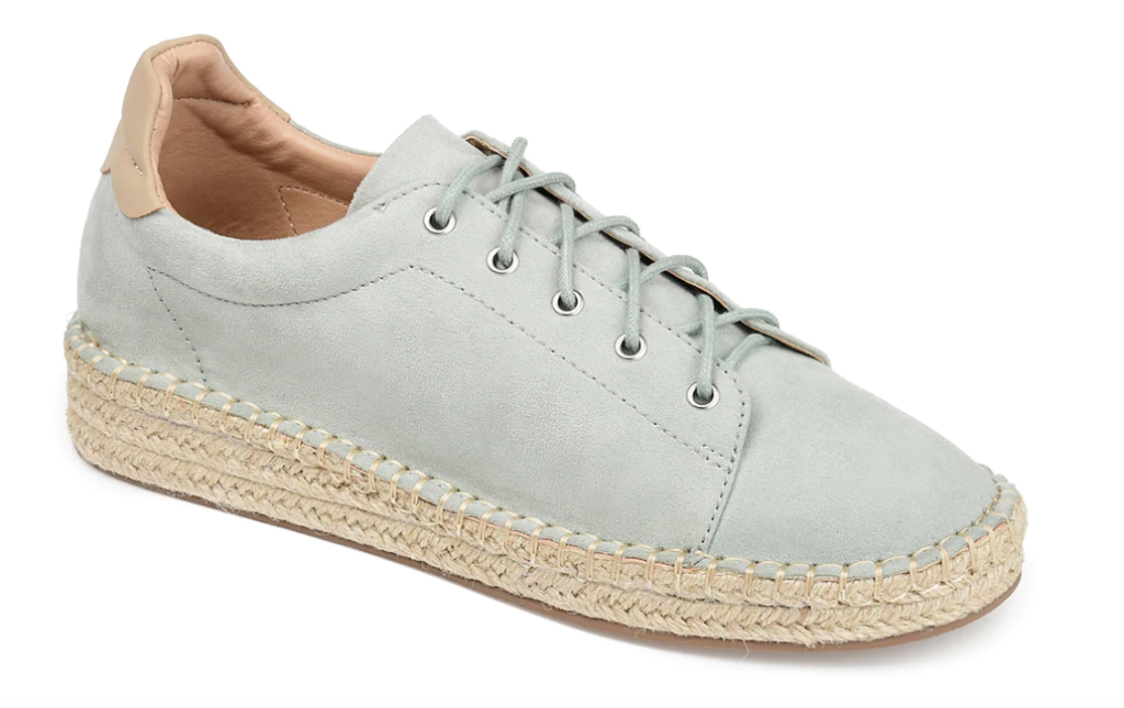 journee collection espadrille sneaker, mother's day sneaker gifts