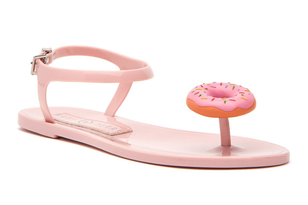 doughnut, geli, katy perry, collections, sandal, pink
