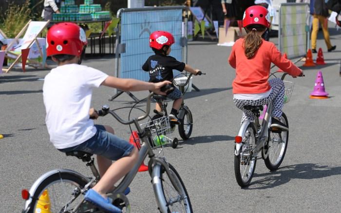 kids, bike, biking