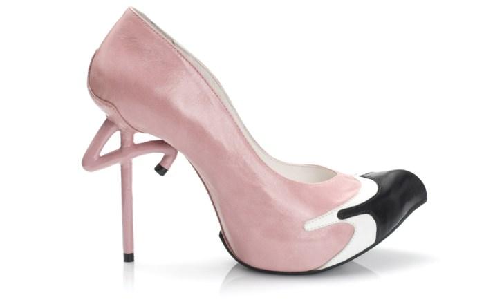 Kobi Levi, flamingo pumps, high heels