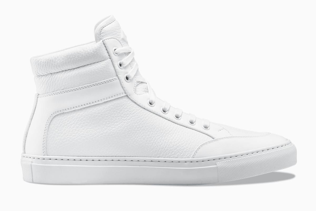 koio, sneakers, white, high top