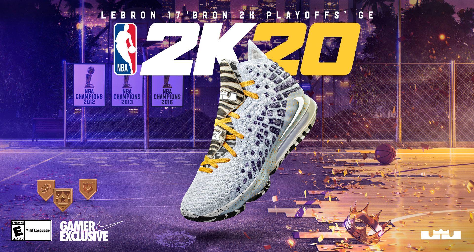 Nike LeBron 17 GE 'Bron 2K Playoffs