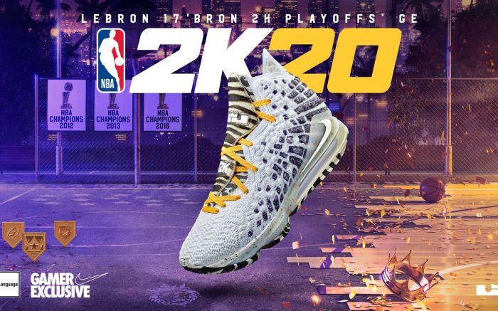 Nike LeBron 17 GE 'Bron 2K Playoffs'