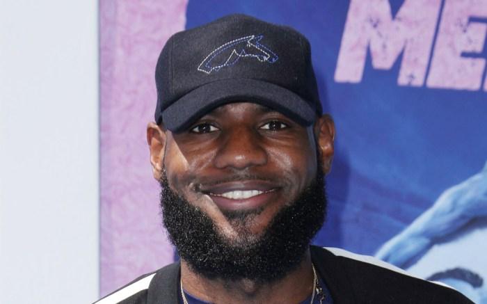 lebron james, hat, style, beard, graduation