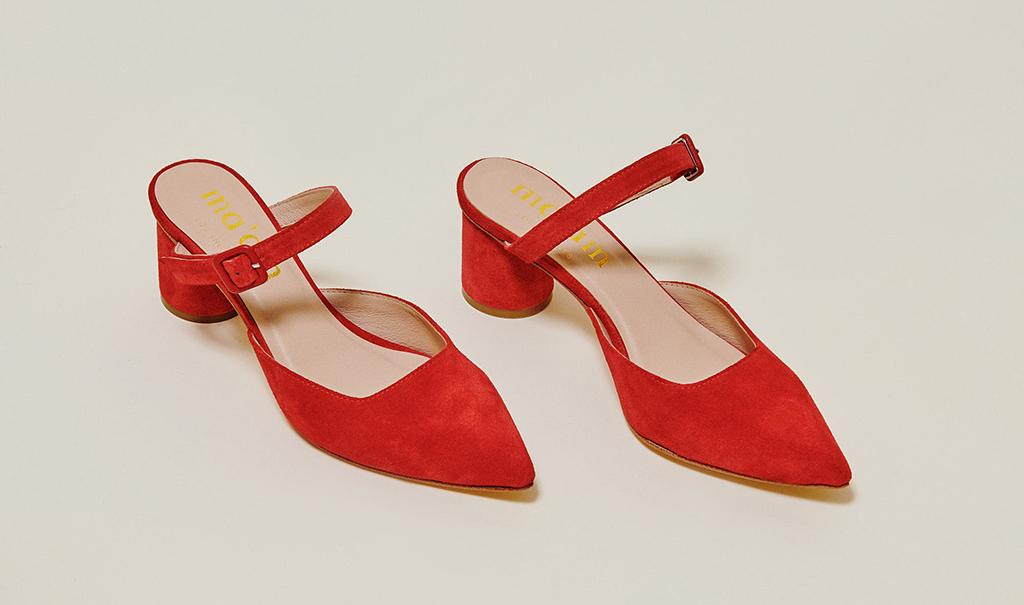 Ma'am shoes Ruth heel