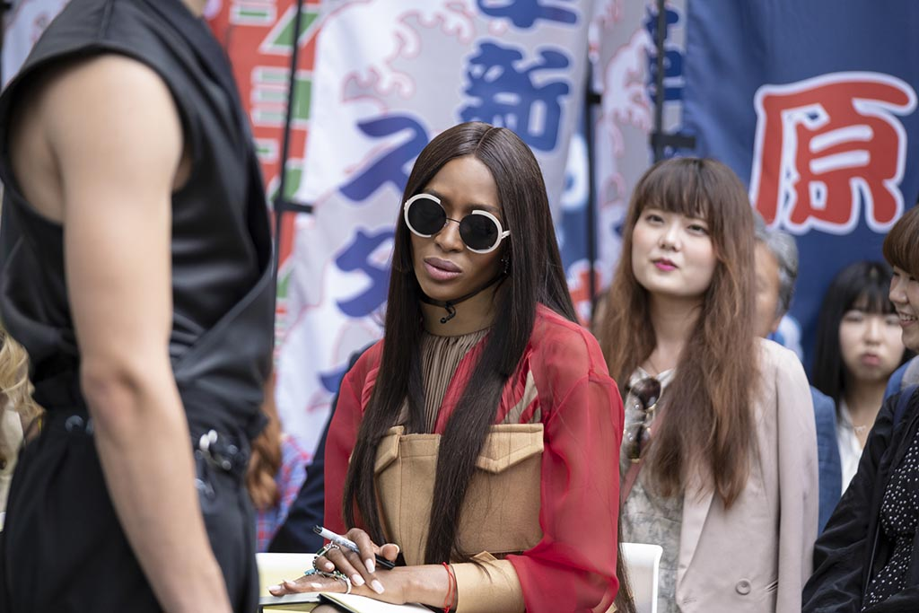 naomi campbell, making the cut, amazon, judge