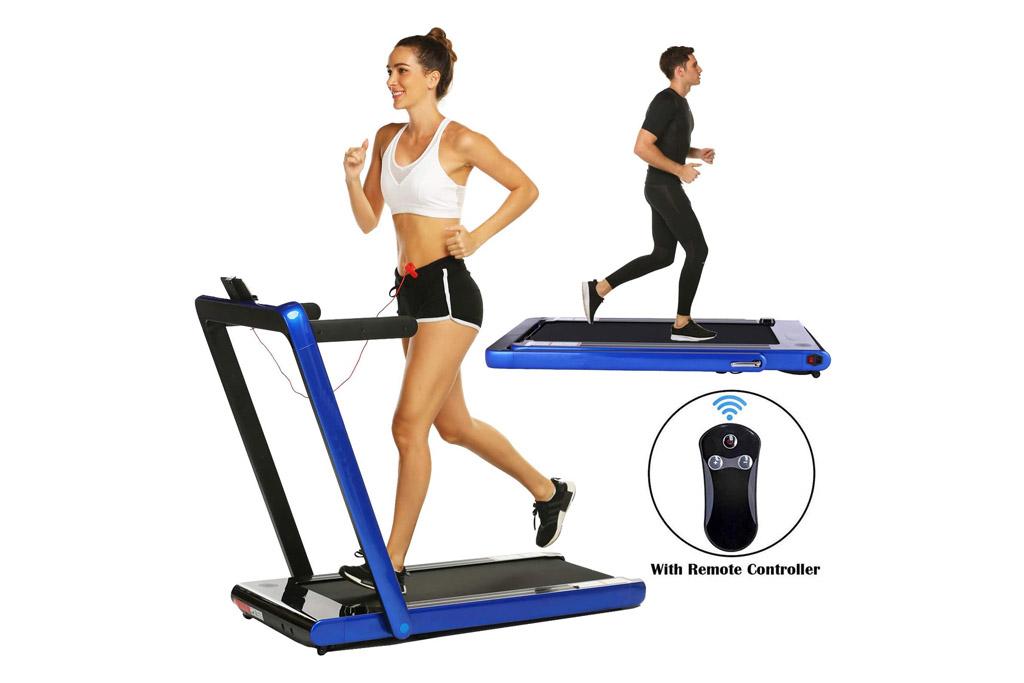 miageek, treadmill, under desk