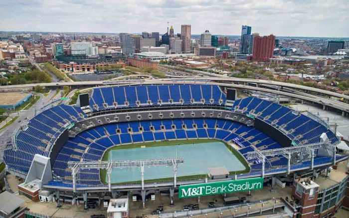 M&T Bank Stadium Baltimore Ravens NFL