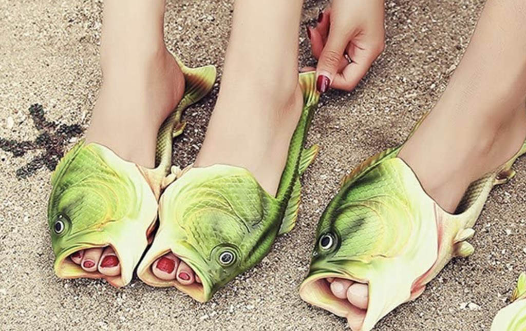 natsunohi, fish slippers, sandals