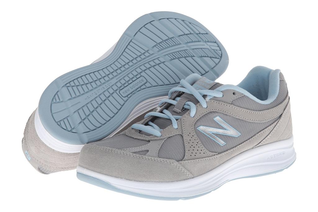 womens, sneakers, new balance, gray